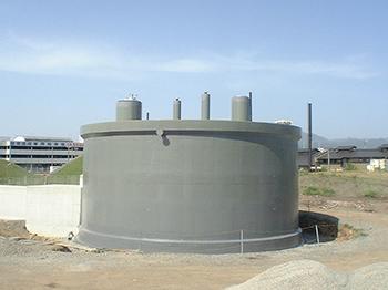 十島工事 鹿児島 SQS工法(燃料タンク)